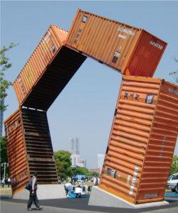 【トリエンナーレ横浜】コンテナでアートなモニュメント