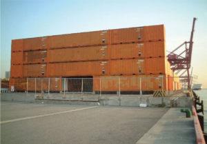 コンテナが有名ブランドのパーティースペースに 高級空間設置プロジェクト