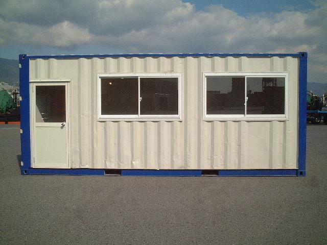 コンテナ 引違い窓/FIX窓/掃き出し窓取付