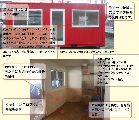飲食店用コンテナ