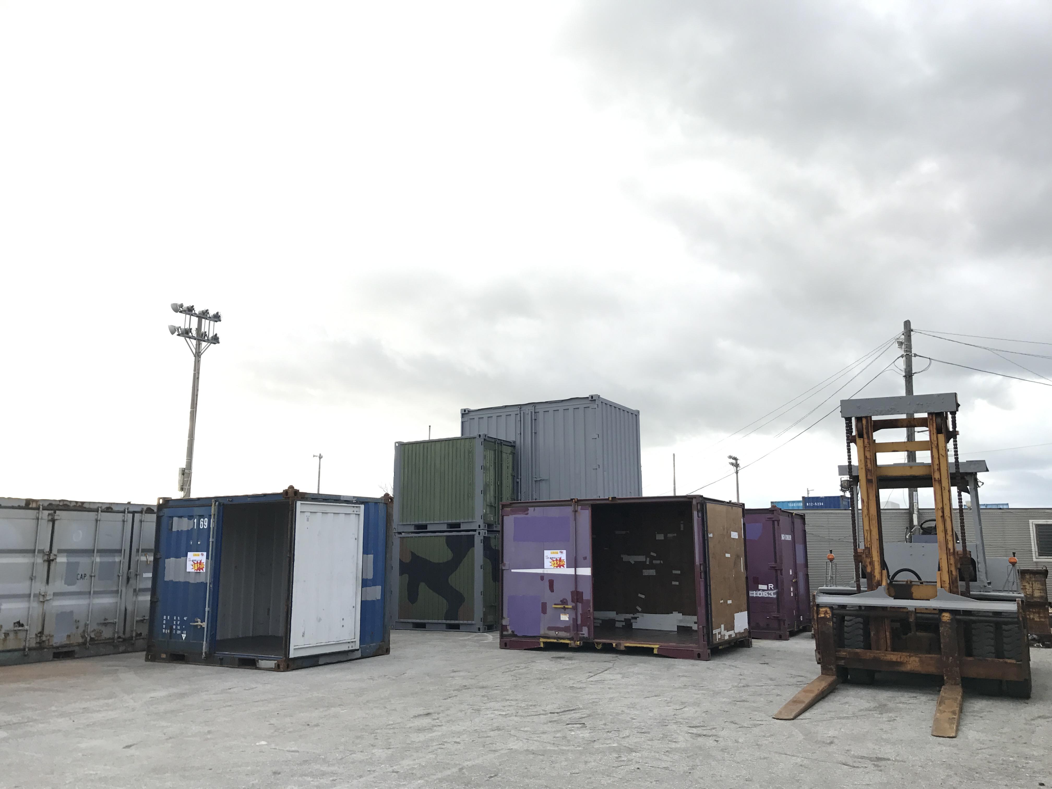 コンテナ市場 沖縄営業所 では私たちがご対応します
