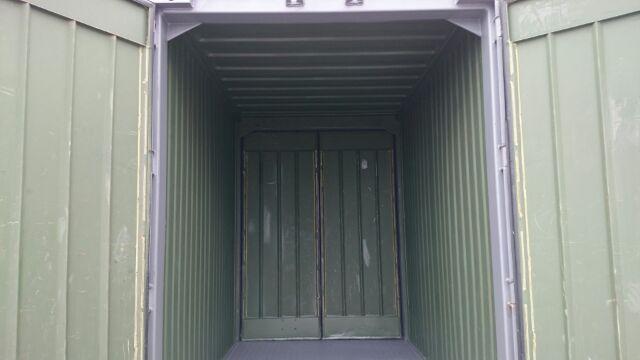 5ft ミニコンテナ(両面ドア)