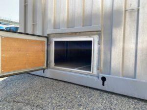 中古20ft サイドドア付きコンテナ