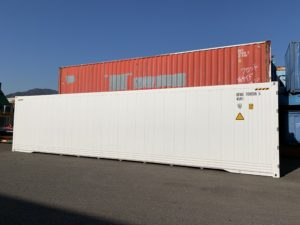 新造40ft ハイキューブ冷凍冷蔵コンテナ(リーファーコンテナ)