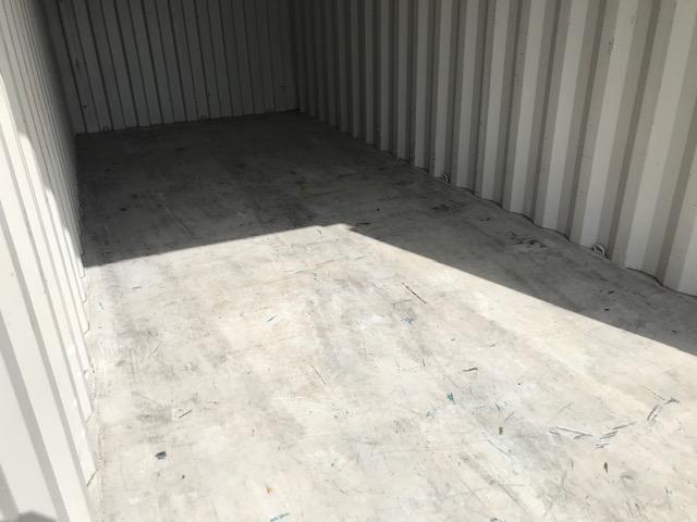 中古20ft ドライスチールコンテナ(鉄板フロア仕様)